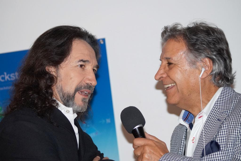 VIDEO: Marco Antonio Solís entrevistado por Pablo Aguilera