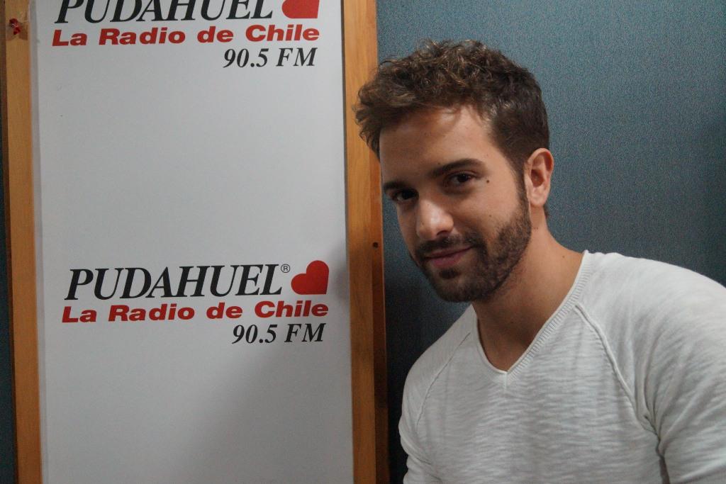 Pablo Alborán en Radio Pudahuel
