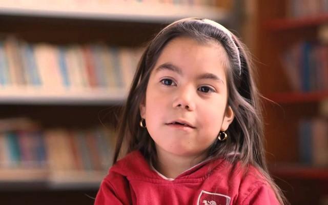 Conozca a Antonella, la niña símbolo de la Teletón 2015