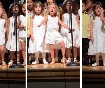 Vídeo de una niña cantando la canción de Moana se vuelve viral