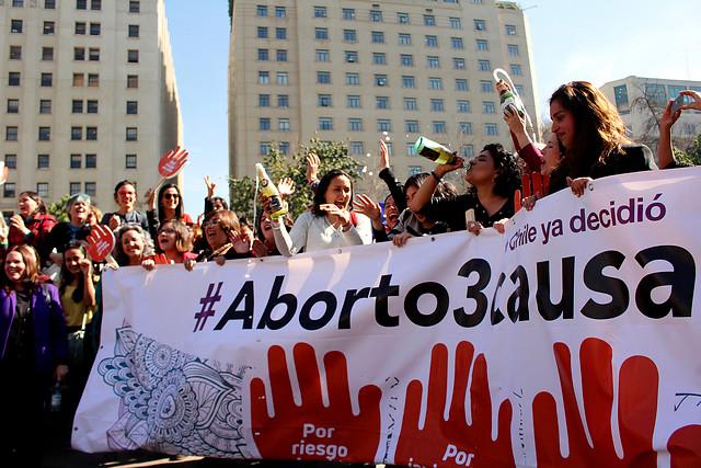 Aprobada despenalización del aborto en tres causales