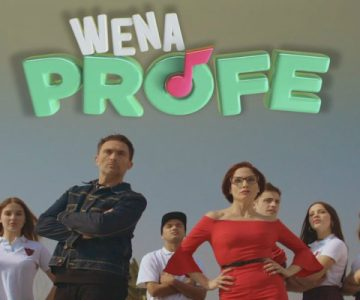 "Teleserie ""Wena Profe"" ya tiene fecha de estreno"