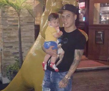 Eduardo Vargas celebró el cumpleaños de su hijo con tiernas fotos