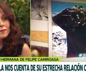 Los emotivos recuerdos de la hermana de Felipe Camiroaga
