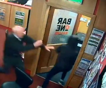 Abuelo héroe: anciano de 83 años frustra un robo en una agencia de apuestas