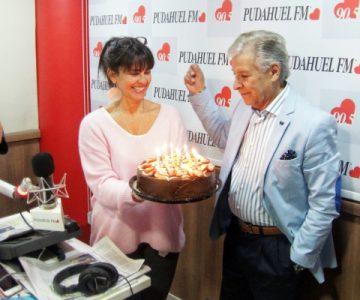 ¡Radio Pudahuel celebró el cumpleaños de Pablo Aguilera!