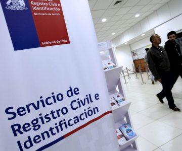 Registro Civil informa sobre alza en el precio de algunos certificados