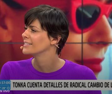 Opiniones divididas sobre el debut del nuevo look de Tonka Tomicic
