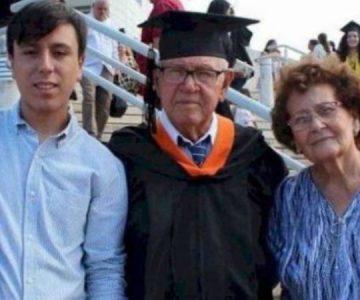 Nunca es tarde: Hombre de 78 años hace realidad su sueño y se gradúa de ingeniero industrial