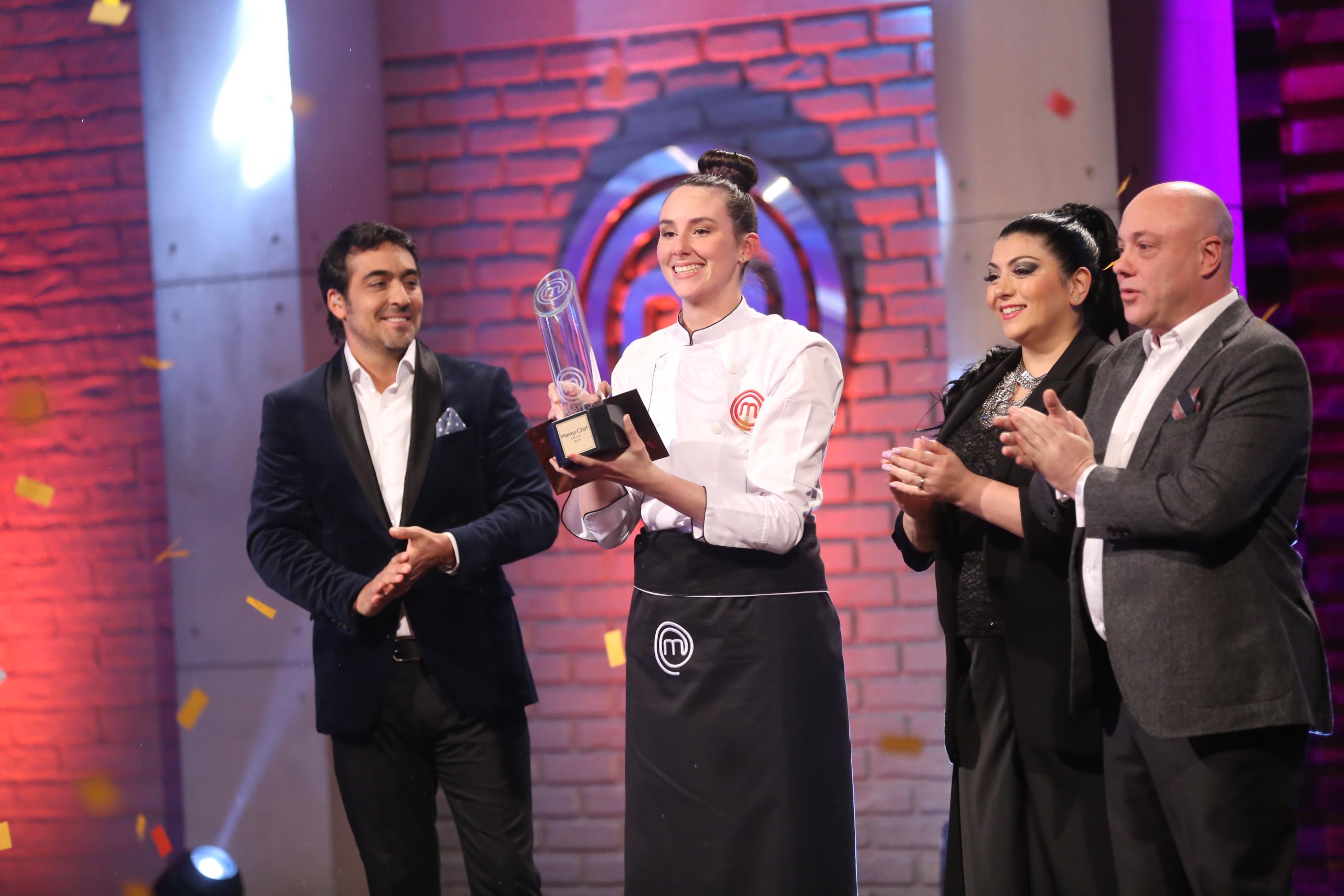 Camila Ruiz es la ganadora de la cuarta temporada de MasterChef