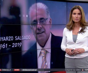 Carolina Escobar se emociona en pantalla tras homenaje a Fidel Oyarzo