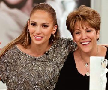 Mamá de Jennifer López se luce bailando en concierto de la artista
