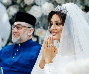 Rey de Malasia renunció al trono para casarse con una ex modelo rusa, pero se divorció a los seis meses