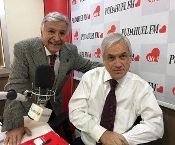 En «La Mañana de Pablo Aguilera» conversamos con el Presidente de la República, Sebastián Piñera
