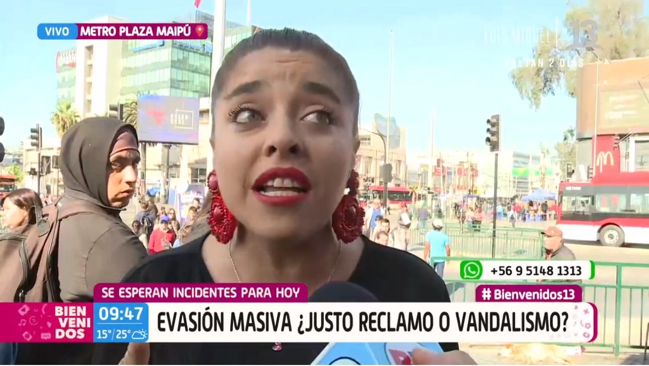 Bessy Gallardo explicó perfectamente la evasión masiva