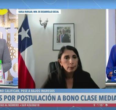 Julio César Rodríguez, Karla Rubilar Y Monserrat Álvarez
