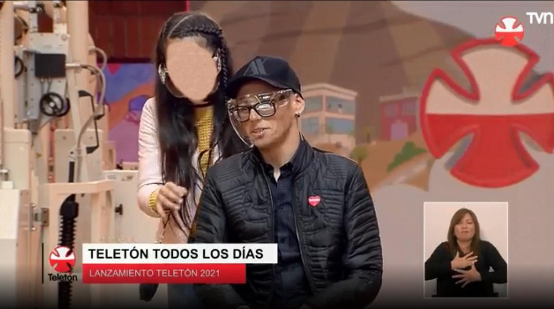 Alberto Abarza Y Su Hija