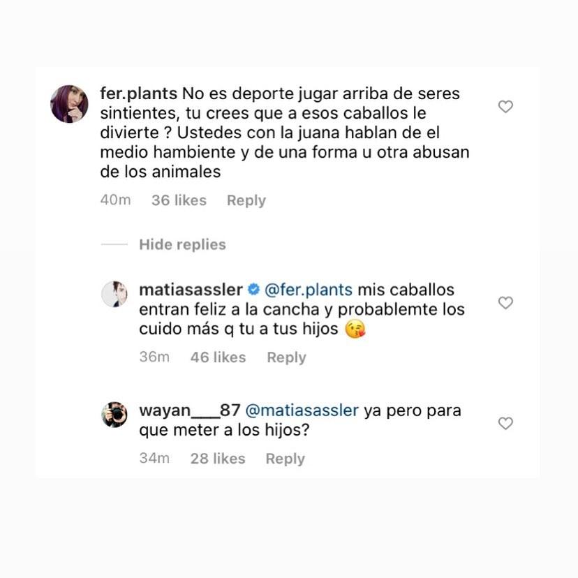 Matías Assler Comentarios